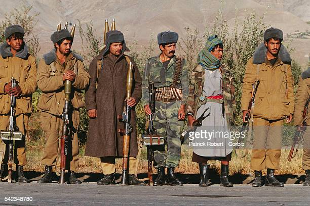 General Dostum's troops in Bagram after Ahmad Shah Massoud's mujahideen captured the city from the Taliban Bagram is located about 60 kilometers...