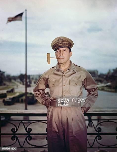 General Douglas MacArthur is seen here in Manilla