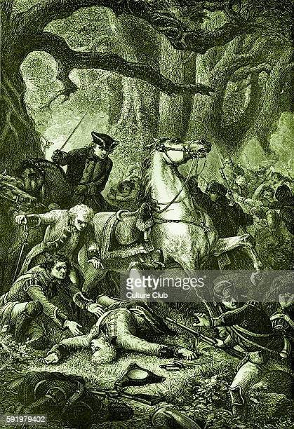 General Edward Braddock commanderinchief of the British forces in North America at the start of the French and Indian War George Washington then...