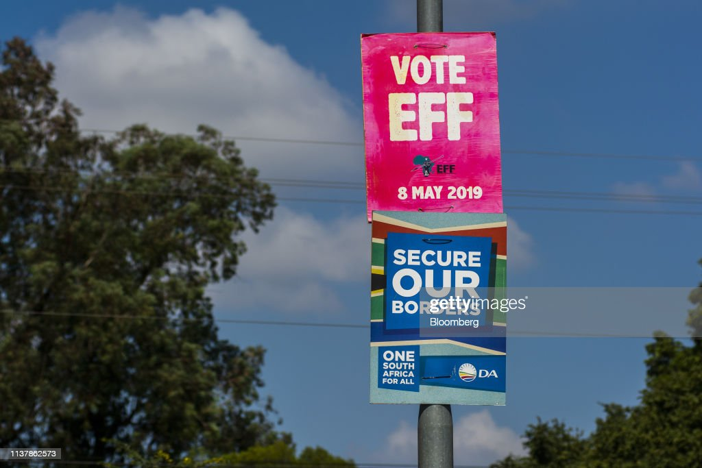 ZAF: Campaign Posters Ahead Of The South African General Election