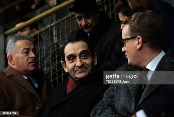 General Elections Of 1967 Pierre Mendes France In Campaign En France en mars 1967 durant les élections législatives Pierre MENDES FRANCE homme...