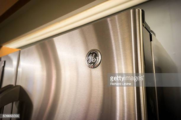 General Electric appliances in a Home Depot in New York is seen on Monday, September 8, 2014. General Electric announced that it is selling its...