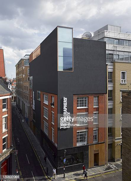 General elevated view of building facade Photographers' Gallery Art Gallery Europe United Kingdom O'Donnell and Tuomey and ADP