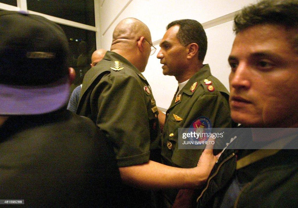 Coronel Enriqu: General Enrique Medina Gomez And Coronel Julio Rodriguez