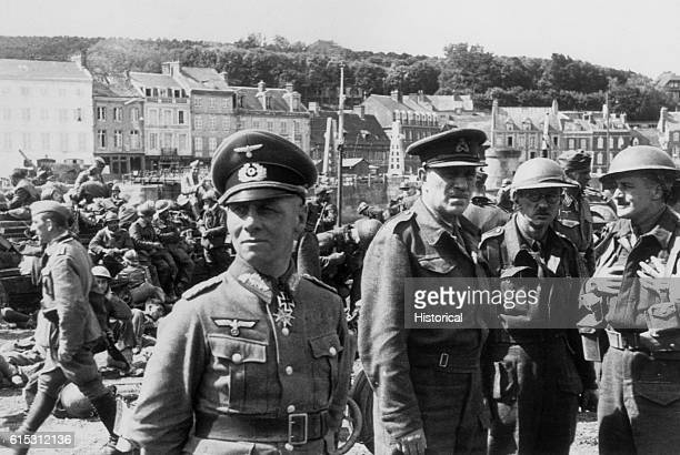 General Erwin Rommel commanded the Hitler's Afrika Korps during the Nazis' North African campaign during World War II In 1944 he was a collaborator...