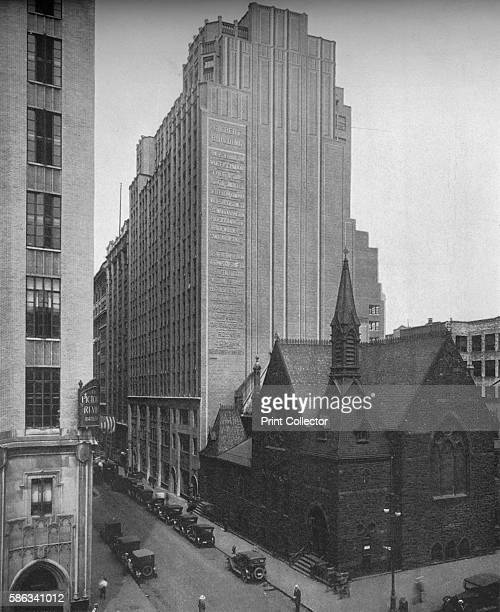 General exterior view, Gilbert Building, 205 West 39th Street, New York City, 1923. Designed by George and Edward Blum. From The Architectural Forum...