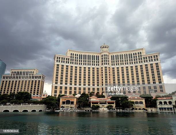 A general exterior view of the Bellagio on October 9 2013 in Las Vegas Nevada