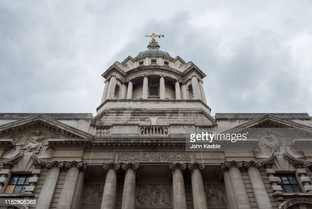 General exterior view of the Central Criminal Court on May 30 2019 in London England