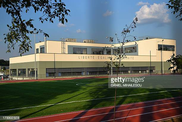 A general exterior view of the newly opened French High School Anna de Noailles at in Bucharest on July 11 2013 AFP PHOTO DANIEL MIHAILESCU
