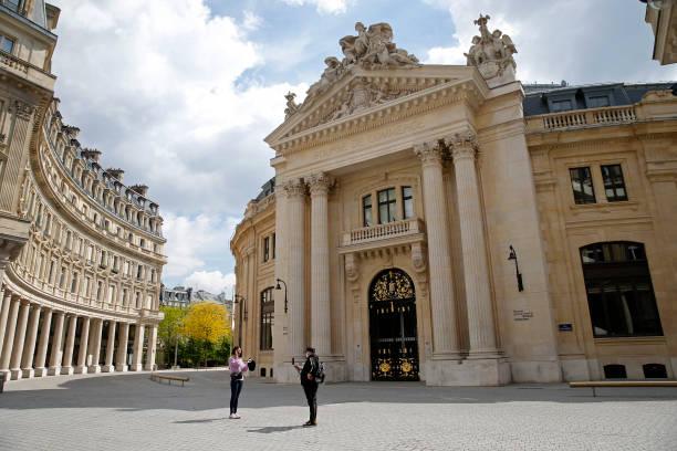 FRA: View Of La Bourse Du Commerce