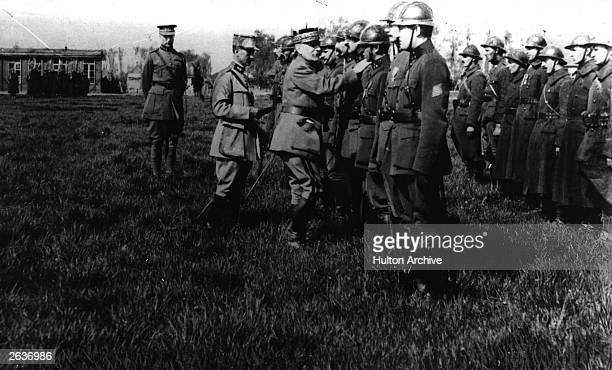 General Ferdinand Foch who commanded the French Army group of the North during the Somme battles and became Supreme Allied Commander in March 1918 is...