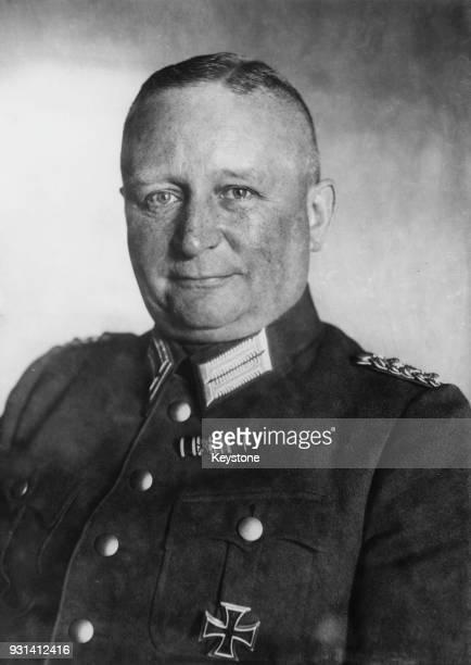 General Ferdinand von Bredow , the head of the Abwehr in the German Reichswehr Ministry and deputy defence minister to Chancellor Kurt von...