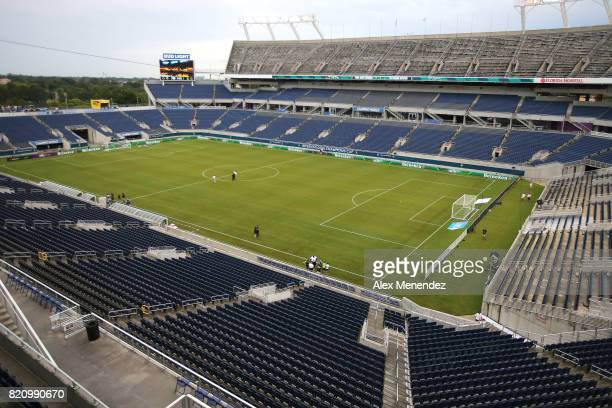 A general field view of the stadium prior to the International Champions Cup 2017 soccer match between Paris SaintGermain and Tottenham Hotspur at...
