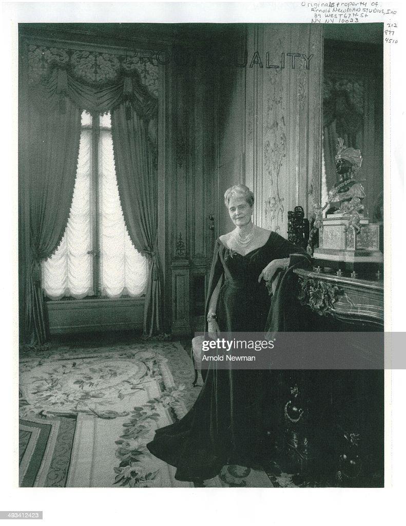 Marjorie Merriweather Post Portrait Session : News Photo