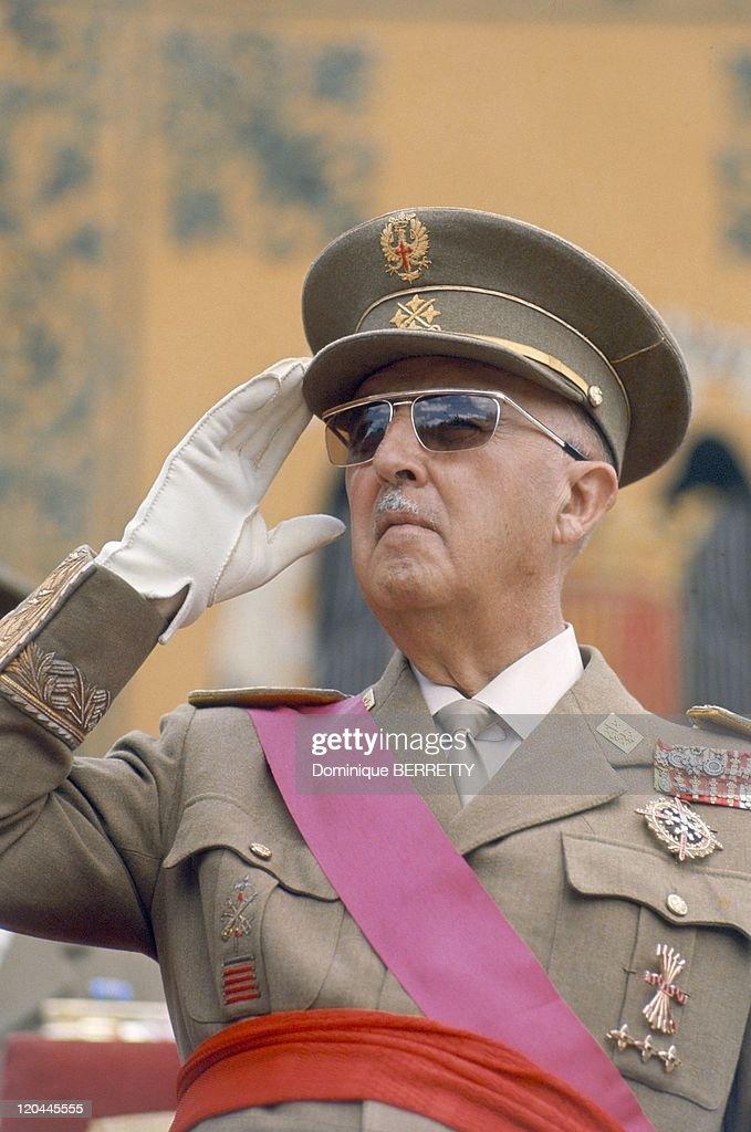 General Francisco Franco Bahamonde In 1967 - : Fotografía de noticias