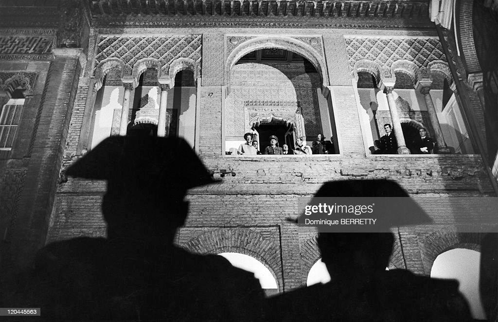 General Francisco Franco Bahamonde in Seville, Spain in 1967.