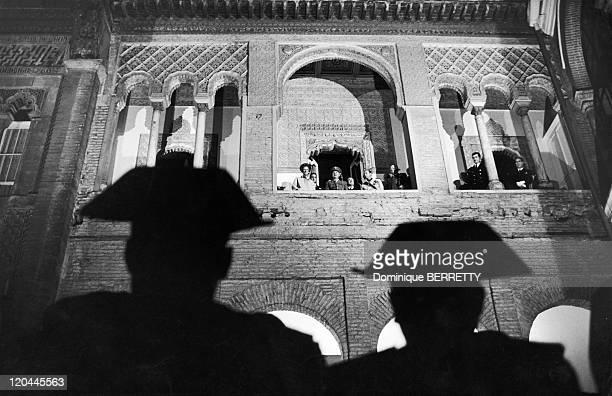 General Francisco Franco Bahamonde in Seville Spain in 1967