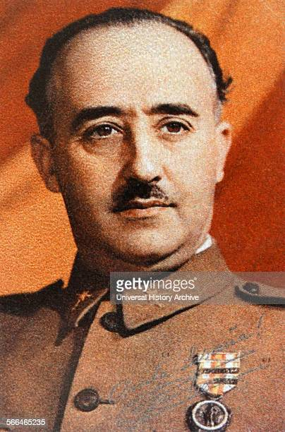 General Francisco Franco during the Spanish Civil War