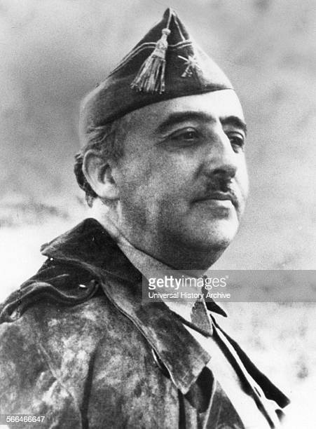 General Francisco Franco future dictator of Spain in 1936