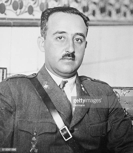 General Francisco Franco rebel leader of the latest uprising in Spain According to reports only the city of Madrid is militantly opposing the...