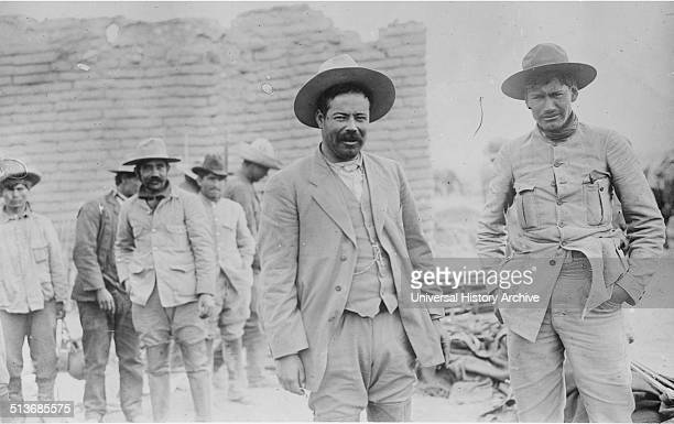 General Francisco Pancho Villa during the Mexican Revolution