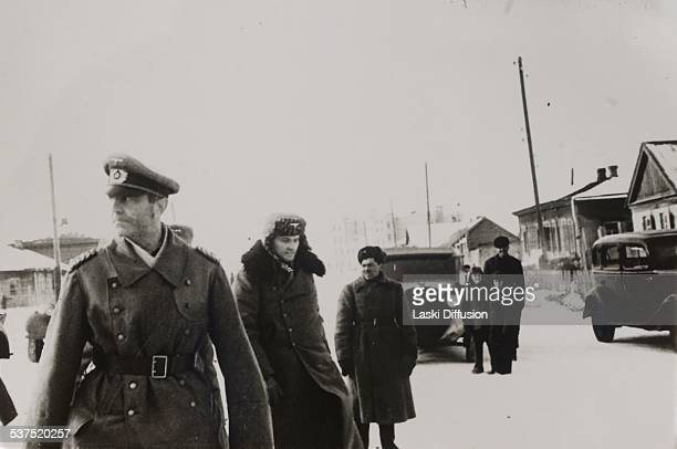 General Friedrich Paulus commander of the Sixth Army in the Battle of Stalingrad after he surrendered to Soviets on January 31 1943 in Stalingrad...