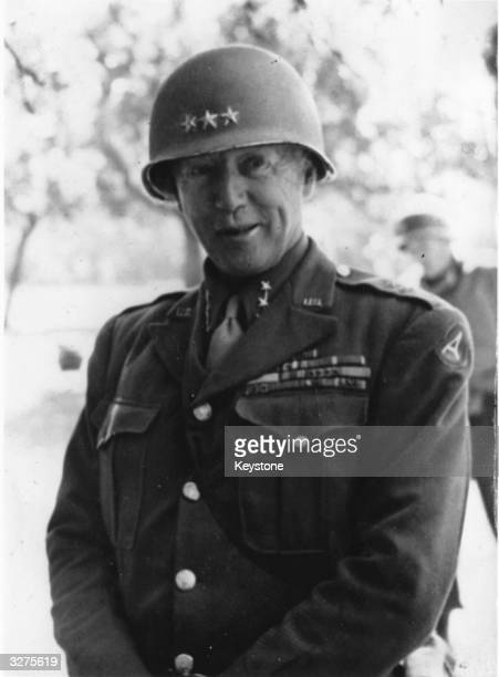 General George S Patton Commander in Chief of the American 3rd Army