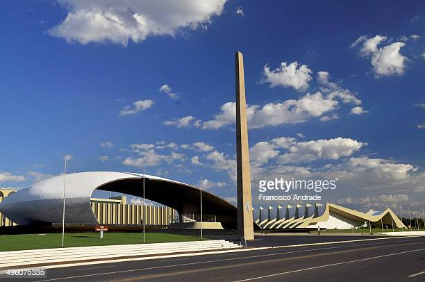 CONTENT] General Headquarters Army of the architectural design of Oscar Niemeyer Brasilia Brazil