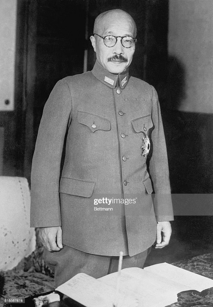 General Hideki Tojo, the then ...