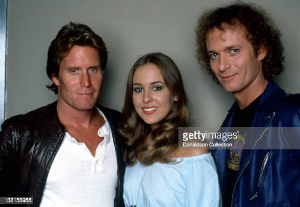 General Hospital actors Kin Shriner Genie Francis and Anthony Geary pose for a portrait session in circa 1985 in Los Angeles California