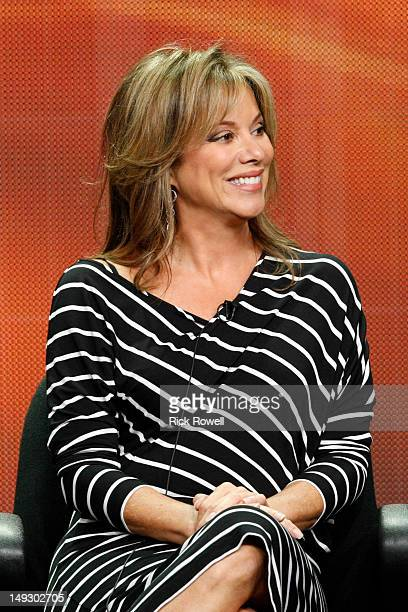 "General Hospital"" Session - Nancy Lee Grahn addressed the press at Disney/Walt Disney Television via Getty Images Television Group's Summer Press..."
