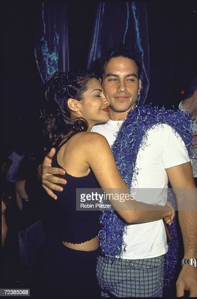 General Hospital's resident heartthrob Tyler Christopher quickened costar Vanessa Marcil's ticker as the reallife loverswho plan to wed Dec 14cuddled...