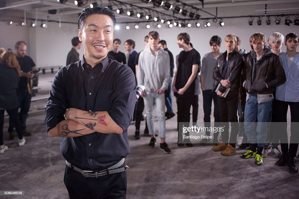General Idea - Front Row - New York Fashion Week Men's Fall/Winter 2016 : News Photo