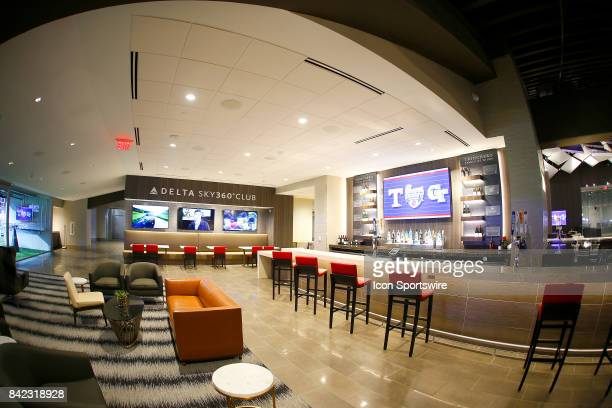 General image of The Delta Sky 360 Club inside the new $15 biilion MercedesBenz Stadium on September 3 2017 in Atlanta GA