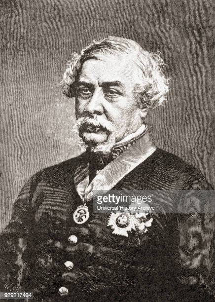 General in the British army and 7th Governor of New South Wales Australia After a print dating from the 1880's
