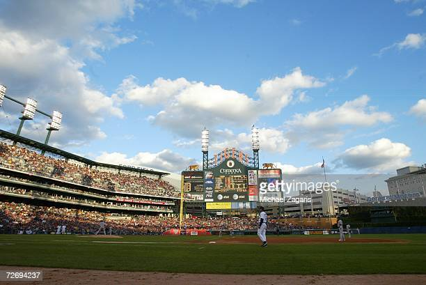 General interior view of Game Four of the American League Championship Series between the Detroit Tigers and the Oakland Athletics on October 14 2006...