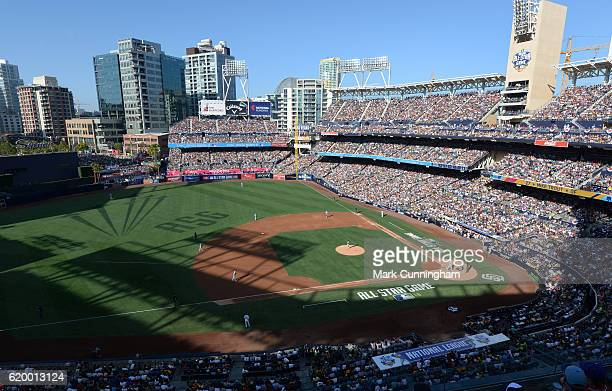 A general interior view of PETCO Park during the 87th MLB AllStar Game at PETCO Park on July 12 2016 in San Diego California The American League...