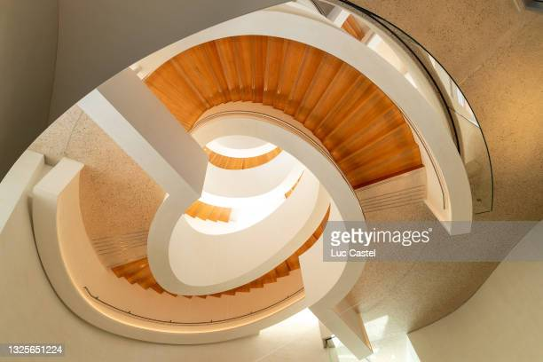 General Interior View of the Luma Foundation designed by Architect Frank Gehry in Arles on June 26, 2021 in Arles, France.