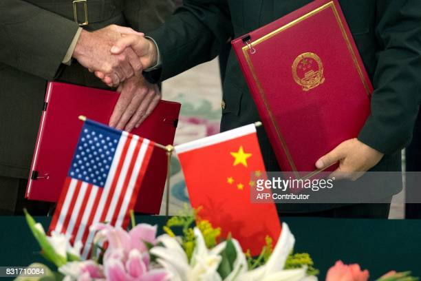 General Joseph Dunford , chairman of the US Joint Chiefs of Staff, and Chief of the General Staff of the Chinese People's Liberation Army General...