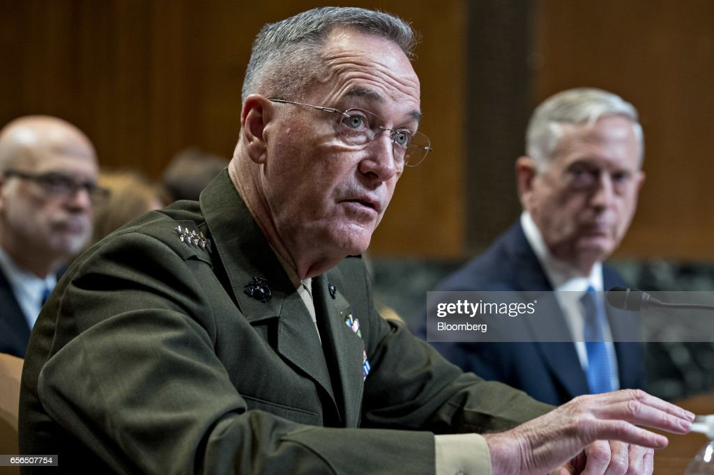 Defense Secretary Mattis Testifies Before Senate Appropriations Subcommittee On Budget Update : News Photo