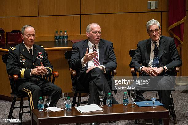 General Keith B Alexander Director of the National Security Agency and Commander of US Cyber Command John O Brennan Director of the Central...