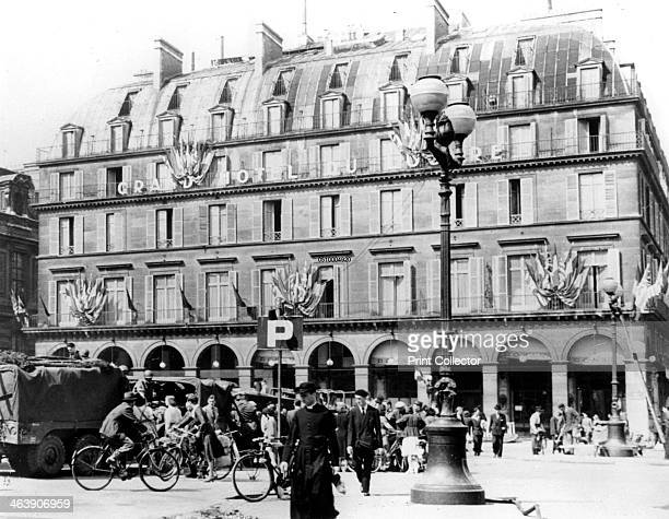 General Leclerc's French troops in central Paris August 1944 Leclerc's 2nd Armoured Division were the first Allied troops to enter Paris and liberate...