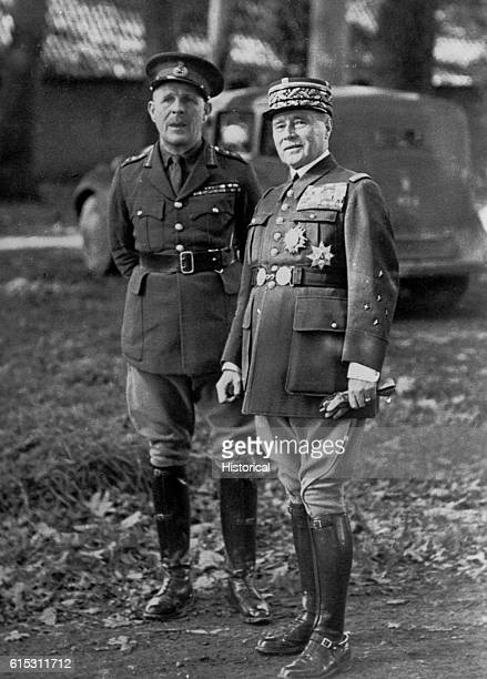 General Lord Gort commanded the British Expeditionary Force in France that had to be evacuated from Dunkirk during the German invasion of 1940...