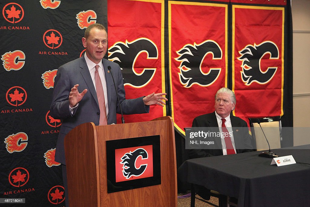 Calgary Flames Introduce Brad Treliving