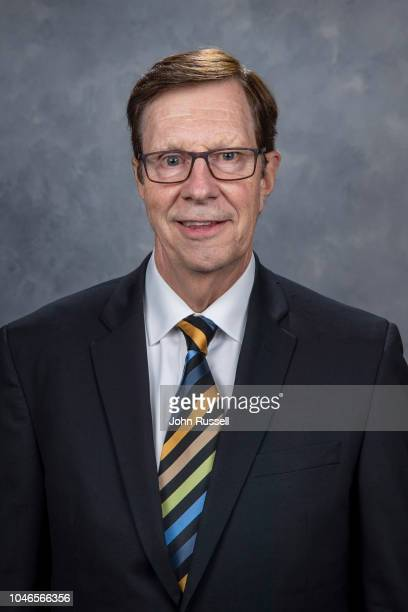 General manager David Poile of the Nashville Predators poses for his official headshot for the 2018-19 season on September 13, 2018 at Bridgestone...
