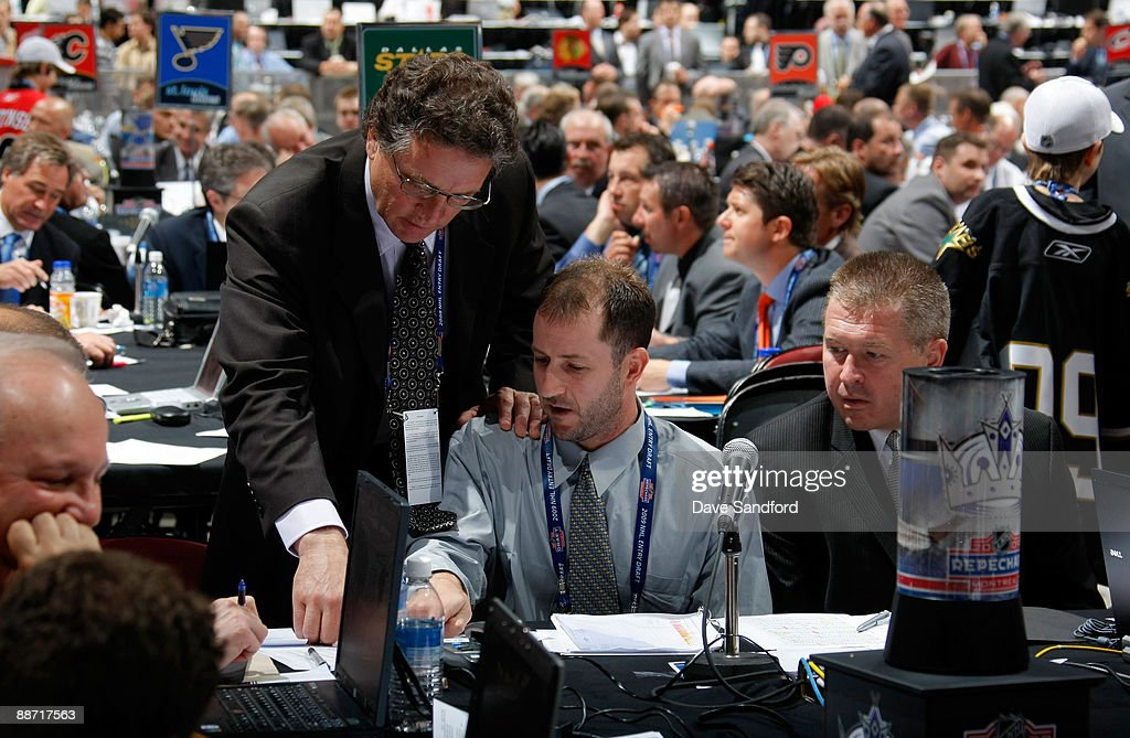 2009 NHL Entry Draft, Rounds 2-7 : News Photo