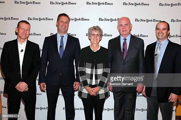 NYT General Manager Editorial Director Conferences Gerald Marzorati New York Public Library President and CEO Tony Marx President of Vassar College...