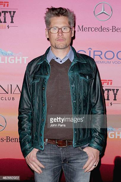 General manager for Atlanta Falcons Thomas Dimitroff attends ESPN the Party at WestWorld of Scottsdale on January 30 2015 in Scottsdale Arizona