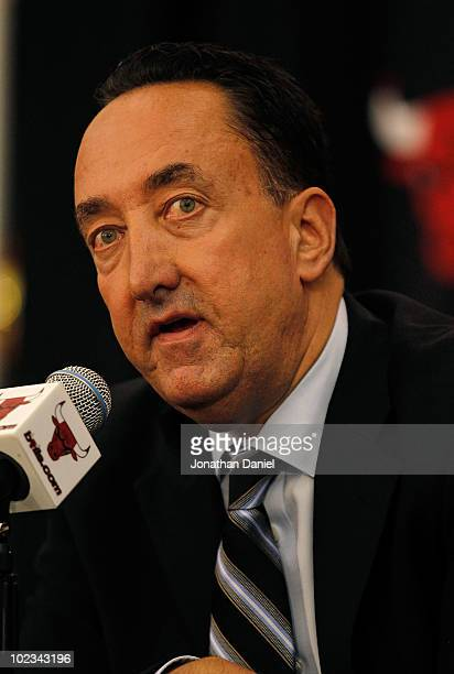 General manager Gar Forman of the Chicago Bulls announces that Tom Thibodeau formally an assistant coach with the Boston Celtics will become the new...