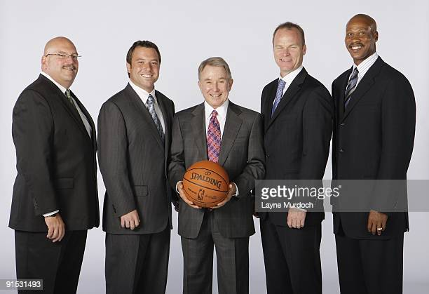 General manager Jeff Bower executive officer of the board Chad Shinn owner George Shinn chief operations officer Hugh Weber and head coach Byron...